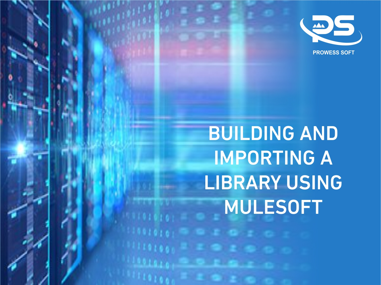 Image Of Building and Importing a library using MuleSoft